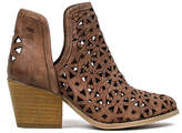 Coolway Dark Brown Athena Leather Ankle Boot