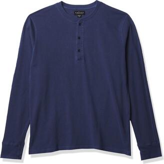 Velvet by Graham & Spencer Men's Adrian Long Sleeve Henley Shirt