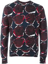 Paul Smith rose print sweatshirt