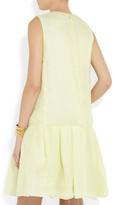 Chloé Crinkled-silk dress