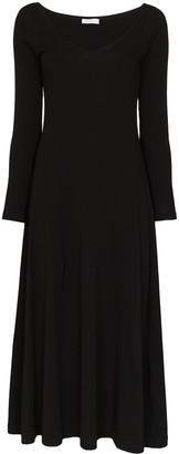 Rosetta Getty V-neck midi dress
