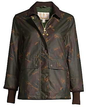 Barbour Women's Modern Country Feather Tawny Waxed Jacket