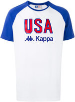 Kappa printed raglan T-shirt - men - Cotton - S