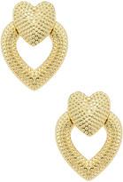 Shashi Heart Knocker Earrings
