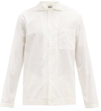 Tekla - Organic Cotton-poplin Pyjama Top - Cream