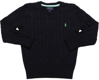 Ralph Lauren Cotton Cable Knit Sweater