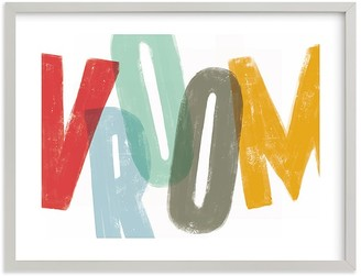Pottery Barn Kids Vroom Wall Art by Minted