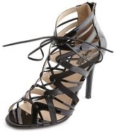 Lace-Up Ghillie Single Sole Heel