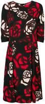 Marni abstract roses dress