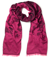 McQ by Alexander McQueen Women's Swallow Scarf Iconic Pink/Black