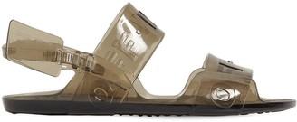 Off-White 10mm Zip Tie Jelly Sandals