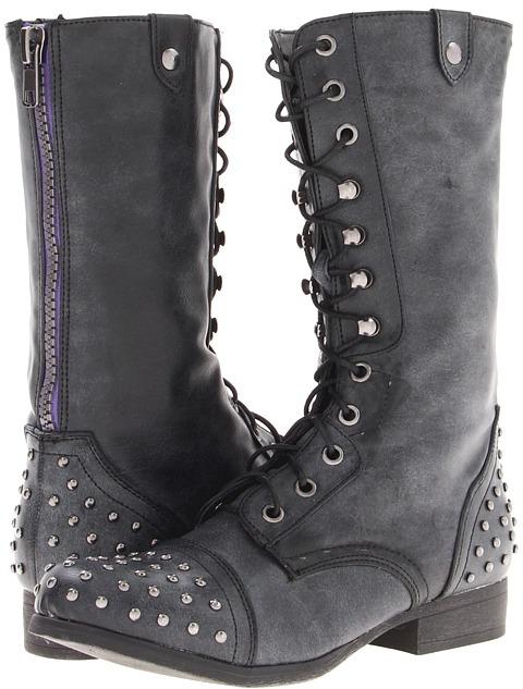 Madden-Girl Gemini-S (Black) - Footwear