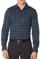 Perry Ellis Regular Fit Paisley Print Shirt
