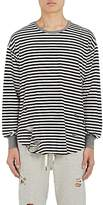 NSF Men's Striped Cotton-Blend Long-Sleeve T-Shirt