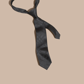 Burberry Classic Cut Check Jacquard Silk Tie
