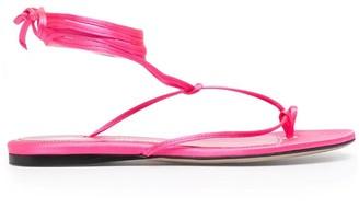 ATTICO Kika Flat Sandals