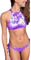 Ninimour Push Up Swimsuit Tie Dye Swimwear Pin Up Padded Bikini Sets
