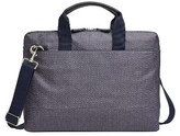 Skagen Men's Peder Coated Twill Slim Briefcase - Blue