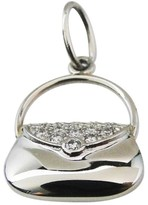 Tiffany & Co. Platinum Diamond Handbag Charm Pendant