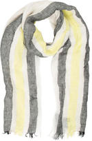 Rag & Bone Multicolor Raw-Edge Scarf w/ Tags