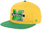 '47 Marshall Thundering Herd Sure Shot Snapback Cap
