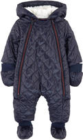 Ikks Padded jumpsuit with a false fur lining