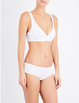 Bodas Basics stretch-cotton bralette