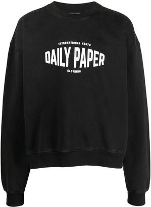 Daily Paper Logo Print Sweatshirt