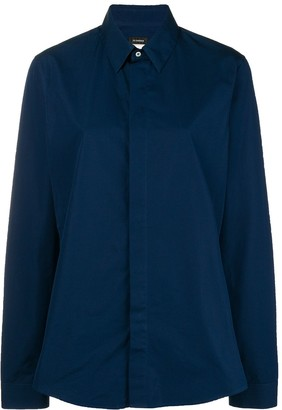 Jil Sander Pre-Owned concealed fastening shirt