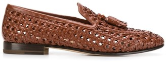 Fratelli Rossetti woven 20mm loafers