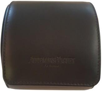 Audemars Piguet Black Leather Watches