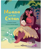Disney Moana and the Ocean Book