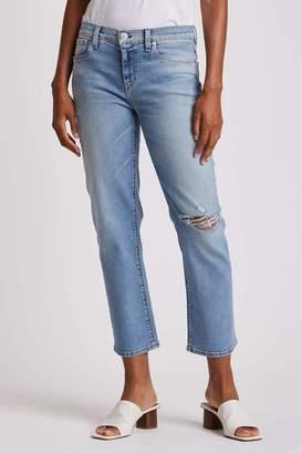 Hudson Jeans Women's Nico Mid Rise Straight Leg Crop Jean