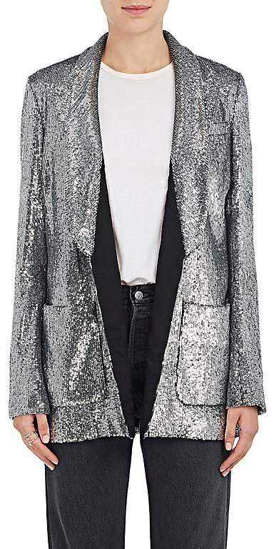 A.L.C. Women's Sequined Open-Front Blazer