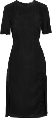 Acne Studios Debby Ruched Shell Dress