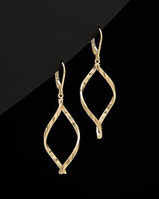 Italian Gold 14K Twist Earrings