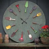 Bed Bath & Beyond Garden Tools Wall Clock