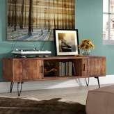 Union Rustic Adger Solid Wood TV Stand for TVs up to 65 inches Union Rustic