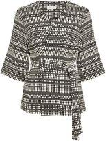 Linea Textured kimono jacket
