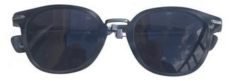 Moncler Grey Plastic Sunglasses