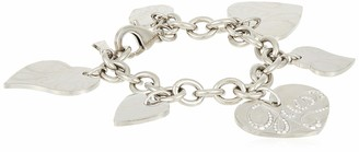 GUESS USB80901 Ladies' 'Hearts' Bracelet Stainless Steel 16 cm