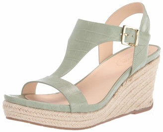 Kenneth Cole Reaction Women's Card Wedge T-Strap Espadrille Sandal