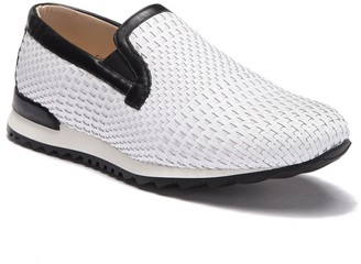 Bacco Bucci Lama Woven Leather Loafer