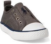Ralph Lauren Little Kid Jersey Mid-Top Sneaker
