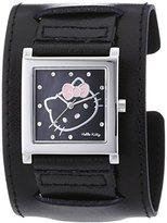 Hello Kitty HK-Hyuga 1774-247 Women's Watch Analogue Quartz Dial PU Strap-Black