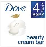 Dove Original Beauty Cream Soap Bar 4 x 100g