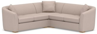 Pottery Barn Bodega Upholstered 3-Piece L-Sectional