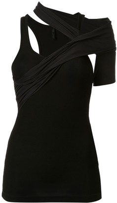 Unravel Project Asymmetric One-Shoulder Tank Top