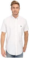 U.S. Polo Assn. Short Sleeve Button Down Oxford Shirt