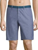Original Penguin Solid Cotton Shorts